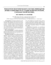 Дипломная работа Математическое моделирование развития Т системы  Дипломная работа Математическое моделирование развития Т системы иммунитета показатели фенотипического состава лимфоцитов крови в