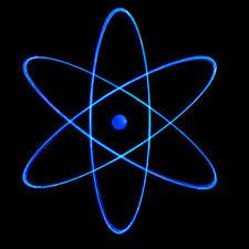 Resultado de imagem para partículas expelidas por um elemento radioativo em decomposição