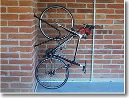 wall mount stand up commercial bike