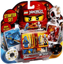 Amazon.com: LEGO Ninjago Spinjitzu Starter Set 2257 (Discontinued ...