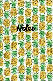 notes pineaple 120 pages notebook journal 5 25 x 8 easy to carry for everyday use big ideas notebook dot journal design book work book