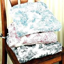 Chair Cushion With Ties Round Kitchen Cushions Com New Pads Decoration Dining Long Outdoor Bistro