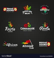 777 Logo Design Set Of African Rastafari Sound Logo Designs