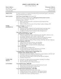 Server Resume Templates Fair Pleasant Restaurant Server Resume