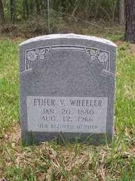 Ether Virgie Nicholson Wheeler (1880-1966) - Find A Grave Memorial