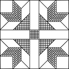 Goose Tracks Quilt Pattern - Printable Quilt Block & Goose Tracks Quilt Pattern Adamdwight.com