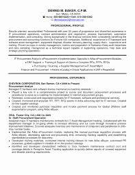 Procurement Resume Examples Sample Procurement Resume Beautiful Procurement Specialist Resume 2
