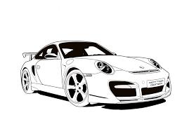 Car design sketch car sketch porsche 911 supercars jaguar peugeot automobile benz ferrari. Porsche Outline Page 1 Line 17qq Com