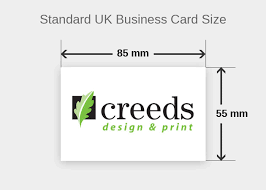 business card size inches average size of business card average business card size