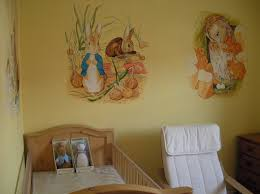 image of peter rabbit nursery floor