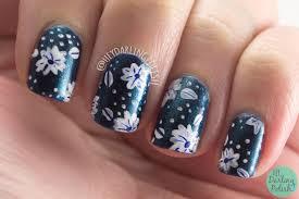 Hey, Darling Polish!: Dark Shimmer Florals