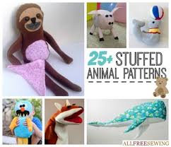 Free Stuffed Animal Patterns Extraordinary Stuffed Animals AllFreeSewing