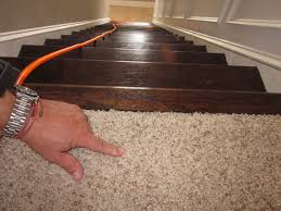 Carpet To Hardwood Stairs Lipstick And A Brad Nailer Are The Only Essentials Finished