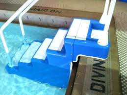 in ground pool stairs fiberglass pool steps startling easy stairs and ladder virtual polymer home ideas