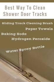 best way to clean shower best way to clean shower door tracks shower cleaning repair and