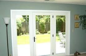 3 panel patio sliding door