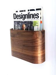 Ikea Wooden Magazine Holder Cool Wall Mount Magazine Holder Modern Wall Mounted Magazine Wall Mounted