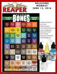 Tabletop Fix Reaper Miniatures New Paint Range Paint
