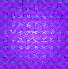 pink blue stained glass wallpaper