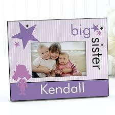 brother sister personalized pictures frames picture big photo sisters personalized glass picture frame