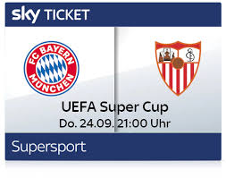 Check spelling or type a new query. Super Cup Live Im Stream Und Tv Bayern Sevilla Live Ab 0 00 Tv Streaming Angebote