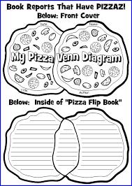 Venn Diagram Pizza Pizza Venn Diagram Book Report Project Templates