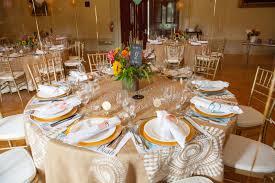 diy burlap tablecloths at vanderbilt mansion