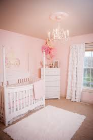 Lola's nursery. Soft pink. Princess Canopy Crib.