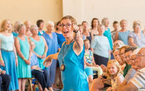 Choir   Wendy Sergeant Singing   Portishead