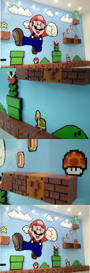Mario Bedroom Decor 17 Best Ideas About Super Mario Room On Pinterest Mario Room