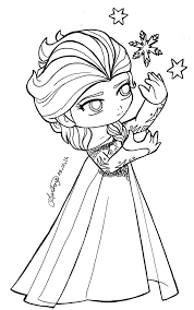 Awe-Inspiring Queen Elsa Coloring Page Princess Anna Beautiful ...