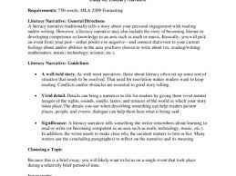 narrative essays personal narrative essay org essay 2 literacy narrative