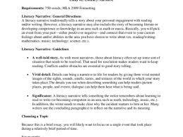 narrative essays personal narrative essay samples org essay 2 literacy narrative