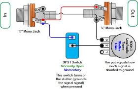 stutter pedal wiring diagram diy pedals pinterest projects true bypass looper wiring diagram at Pedal Wiring Diagram