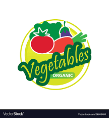 Fruit And Vegetable Logo Design Organic Vegetables Logo