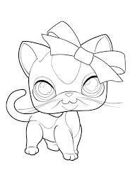 Small Picture Littlest Pet Shop Coloring Pages Printable Many Interesting Cliparts
