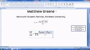 cool equation editor tool microsoft office tip trick msp ultimate steal fy10 tip