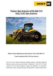 Tractor San Antonio (210) 648-1111 by HOLT CAT San Antonio - issuu
