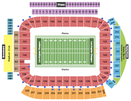 Chargers Stadium Seating Chart Dignity Health Sports Park Seating Chart Carson