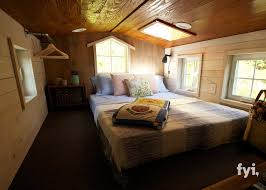Small Picture The loft bedroom of the Barn Chic house a 300 sq ft tiny house