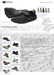 Five Fingers Size Conversion Chart Runman For Sale Brand New Vibram Fivefinger Kso F41