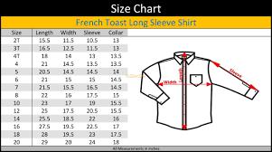 French Toast Boys Long Sleeve White Dress Shirt E9004