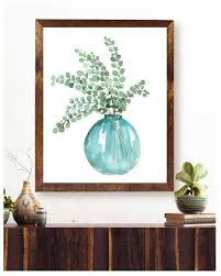eucalyptus wall art eucalyptus decor