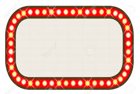 Marquee Sign With Lights 451 Marquee Free Clipart 2
