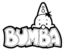 Kleurplaat Bumba Studio100 1951