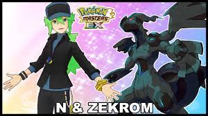 Electric/Dragon Pokefair Striker! N & Zekrom Full Details! | Pokemon Masters  EX - YouTube