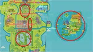 Sword / Shield Pokémon: Compare Galar's size to Isle of Armor