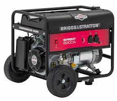 Переносной <b>бензиновый генератор</b> Sprint 6200A | <b>Briggs</b> & Stratton