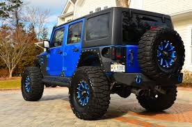 blue customized jeep wranglers. attached images blue customized jeep wranglers p