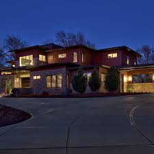 House Blend Lighting And Design Omaha Homes Striking Design A Blend Of Contemporary And
